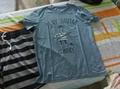 首尔站:NII 男女同款 新款 韩版时尚百搭圆领宠物图案蓝色短袖T恤NNUARSM24K1-1 韩国 首尔站