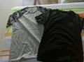 首尔站:NII 男士 新款 韩版时尚百搭款灰色圆领拼肩短袖T恤NNUASRM1641-1 韩国 首尔站