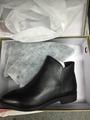 GAODI/高蒂专柜同款新款欧美时尚尖头真皮低跟女短靴平跟女靴子潮54173-803