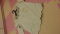 戴维贝拉女童女宝宝娃娃领条纹波浪卷边T恤打底衫1-4岁DB2478